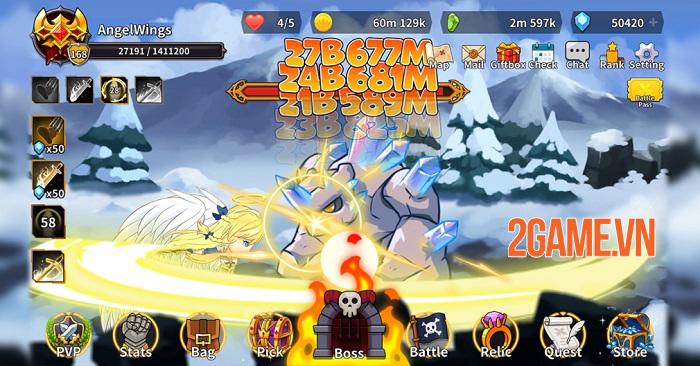 Raising Archangel - Game Idle RPG đậm chất hành động mở đăng kí trước 4