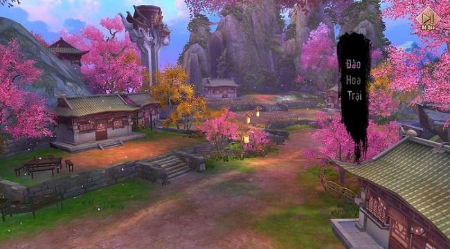 Cộng đồng Tân Thiên Long Mobile say đắm bản cập nhật Đào Hoa Ảnh Lạc