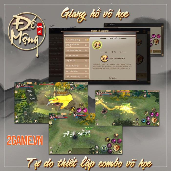 Đế Mộng Giang Hồ - Tái hiện thế giới kiếm hiệp võ lâm kinh điển nhất 2