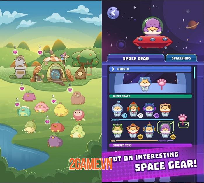 Claw Stars - Khám phá vũ trụ, giải cứu các sinh vật đáng yêu 2