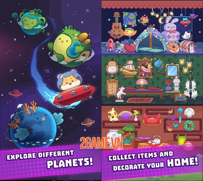 Claw Stars - Khám phá vũ trụ, giải cứu các sinh vật đáng yêu 3
