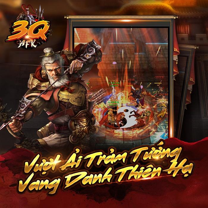 3Q AFK - Game dung hợp chất chơi của 3 dòng game thịnh hành ấn định ra mắt 1