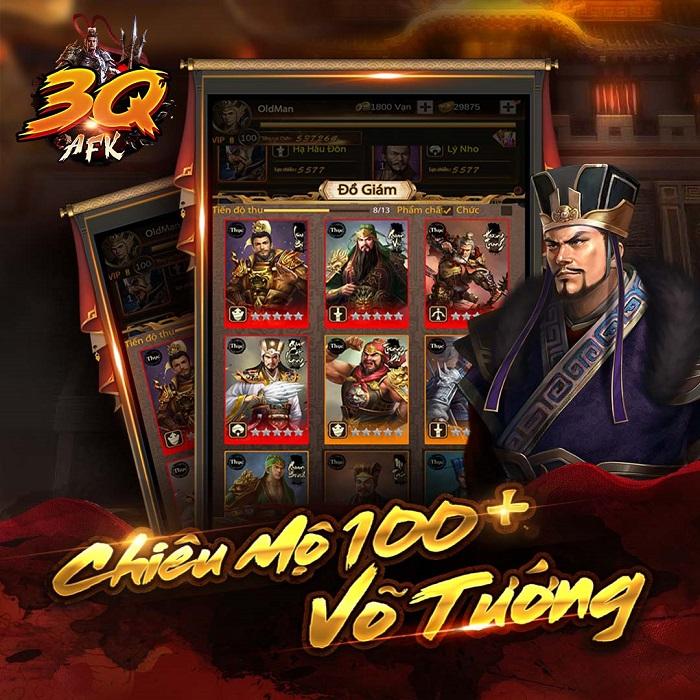 3Q AFK - Game dung hợp chất chơi của 3 dòng game thịnh hành ấn định ra mắt 2