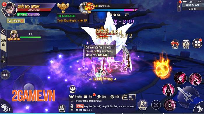 Gameplay Thương Khung Chi Kiếm hội tụ tinh hoa game nhập vai nổi bật nhất 1