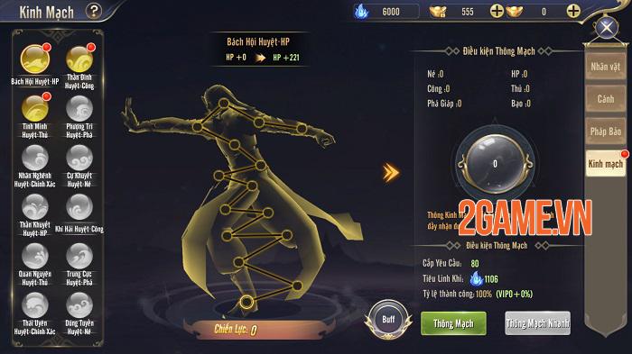 Gameplay Thương Khung Chi Kiếm hội tụ tinh hoa game nhập vai nổi bật nhất 2