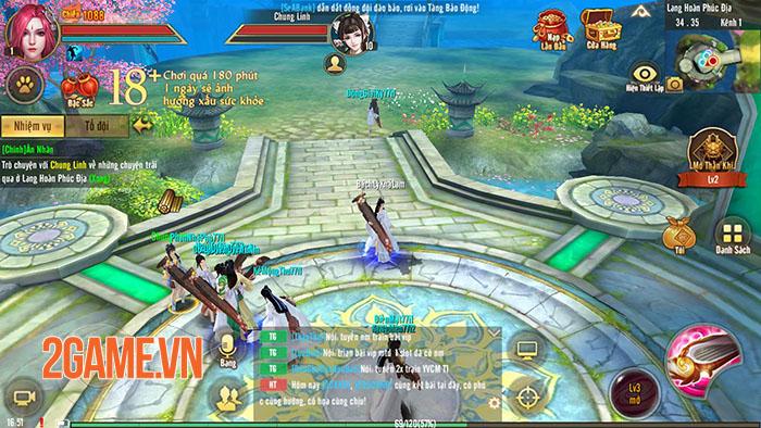 Server đặc biệt của Tân Thiên Long Mobile rộn ràng đua lực chiến 1