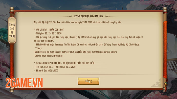 Server đặc biệt của Tân Thiên Long Mobile rộn ràng đua lực chiến 2