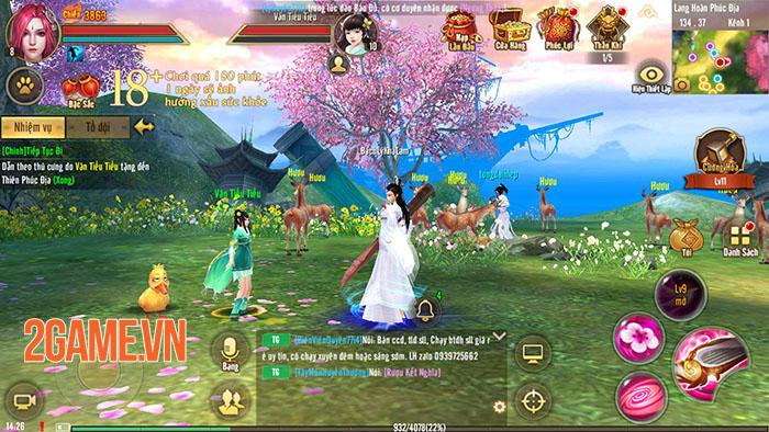 Server đặc biệt của Tân Thiên Long Mobile rộn ràng đua lực chiến 4