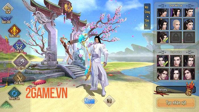 Server đặc biệt của Tân Thiên Long Mobile rộn ràng đua lực chiến 5