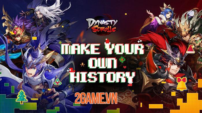 Game nhập vai thẻ bài Dynasty Scrolls chính thức ra mắt 0