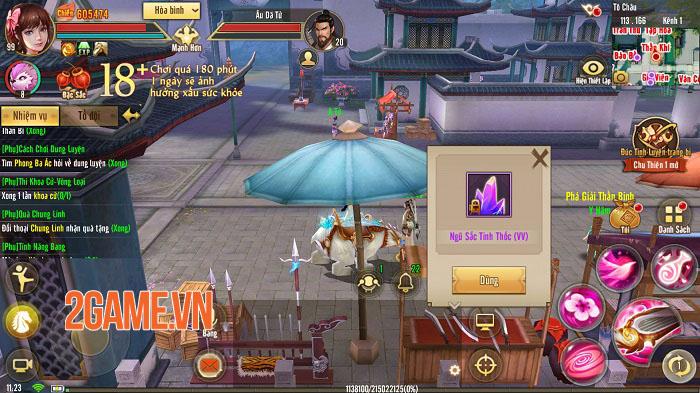 Tân Thiên Long Mobile: Phiên bản Đào Hoa Ảnh Lạc đưa người chơi lên một tầm cao mới 0