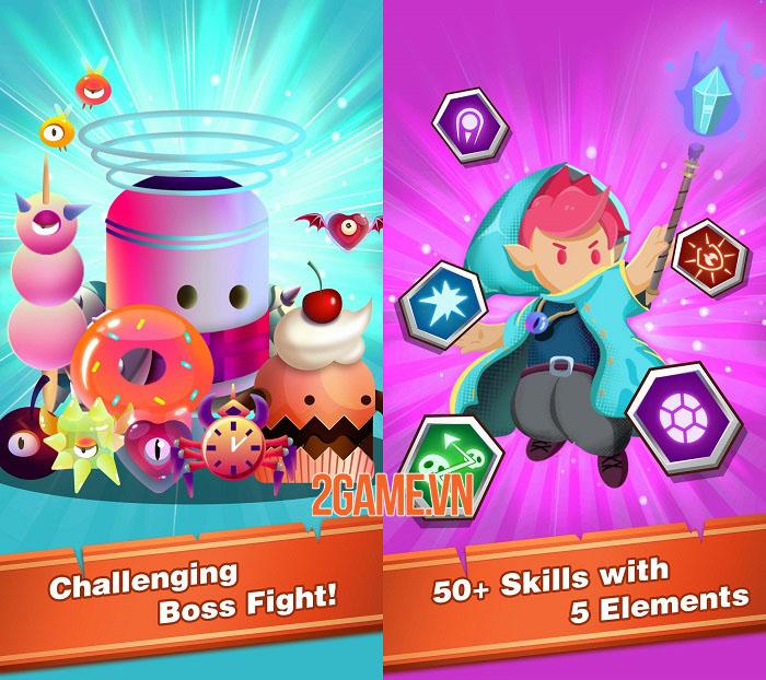 Wizard Legend: Fighting Master - Game bắn súng siêu cute mở truy cập sớm 1
