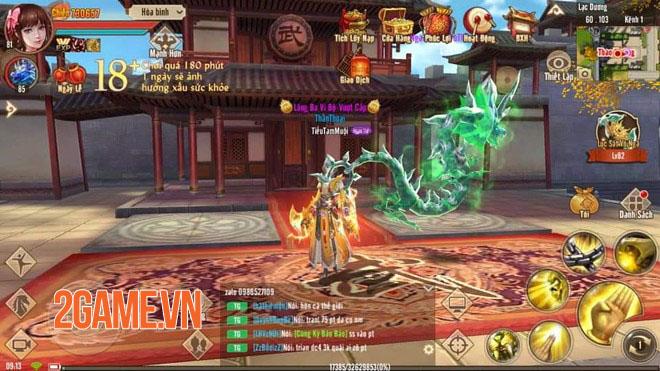 Tính năng mới Ngự Thú Quyết không nên bỏ quên trong Tân Thiên Long Mobile 0