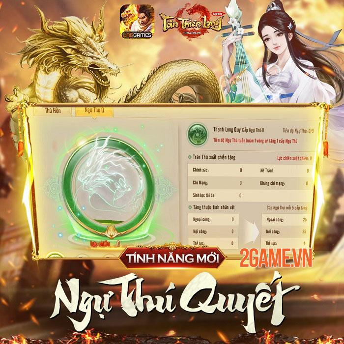 Tính năng mới Ngự Thú Quyết không nên bỏ quên trong Tân Thiên Long Mobile 1