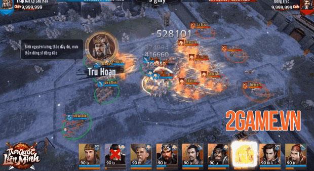 Tam Quốc Liên Minh - Game SLG đồ họa 4K sắc nét và gameplay xuất sắc 8