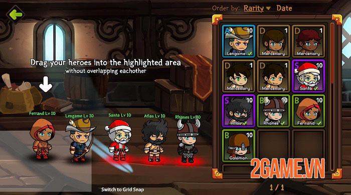 Auto Battles Online - Game idle RPG với hệ thống chiến đấu cùng 5 chiến binh 1