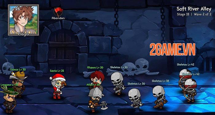 Auto Battles Online - Game idle RPG với hệ thống chiến đấu cùng 5 chiến binh 3