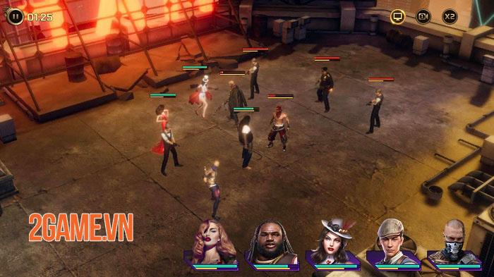 Mafia: Crime War - Game MMO thẻ bài chiến thuật theo chủ đề mafia 2