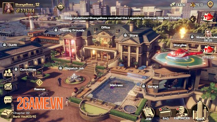 Mafia: Crime War - Game MMO thẻ bài chiến thuật theo chủ đề mafia 5