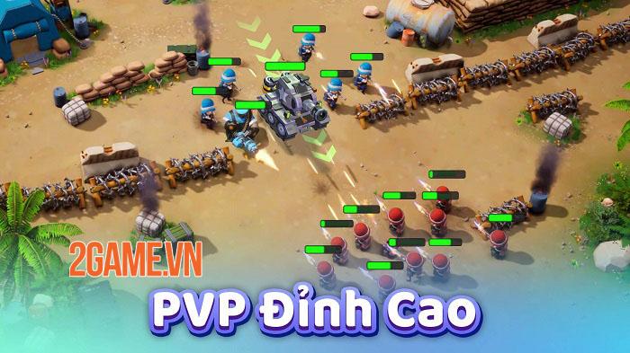 Top War: Battle Game - Game chiến thuật xây dựng quân đội với lối chơi mới mẻ 5