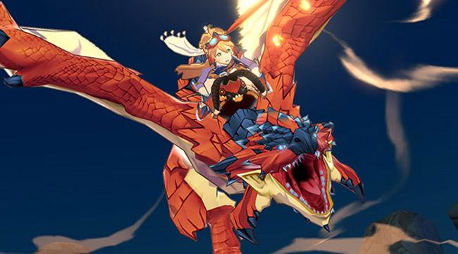 Trước khi lên phim Rathalos là linh hồn Monster Hunter Riders