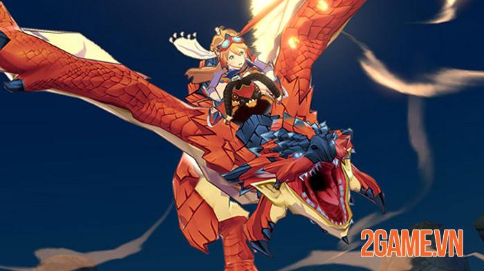 Trước khi lên phim Rathalos là linh hồn Monster Hunter Riders 3