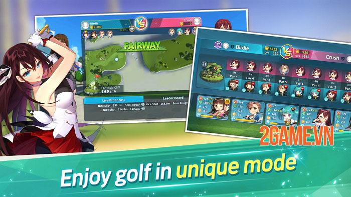 Birdie Crush: Fantasy Golf - Game đánh golf mở đăng kí trước cho nền tảng di động 1