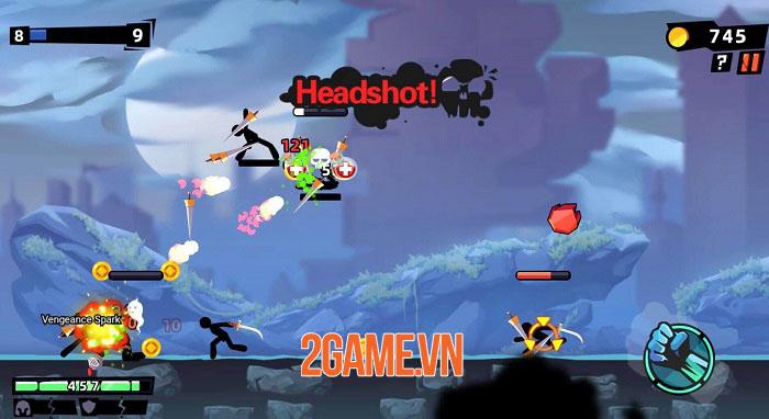 Stickman Master II: Dark Earldom - Game người que chiến đấu rogue-like 4
