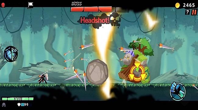 Stickman Master II: Dark Earldom – Game người que chiến đấu rogue-like