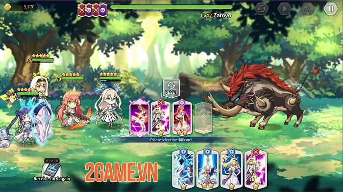 Shining Maiden - Game thẻ bài anime với cơ chế chiến đấu thú vị 3