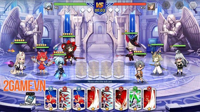 Shining Maiden - Game thẻ bài anime với cơ chế chiến đấu thú vị 2