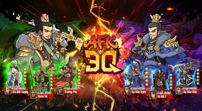 AFK 3Q – Đế Vương Thiên Hạ chính thức trình làng hôm nay