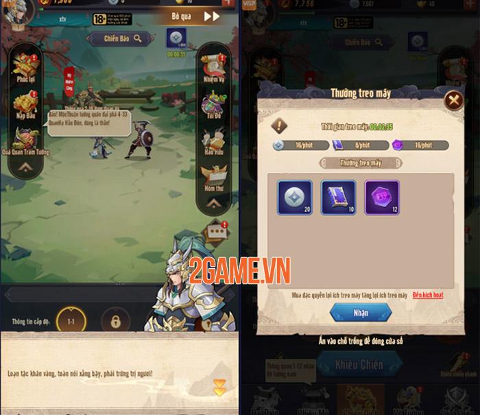 Trải nghiệm AFK 3Q - Đế Vương Thiên Hạ: Tận hưởng lối chơi Idle đầy mới lạ 4