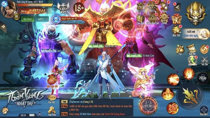 Tặng 600 giftcode game Thần Vương Nhất Thế 3