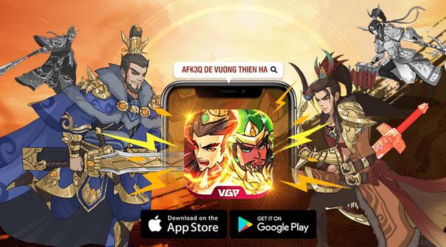 Tặng 600 giftcode game AFK 3Q – Đế Vương Thiên Hạ