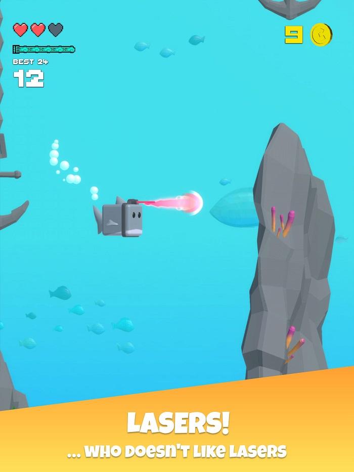 Choppy Waters - Game bơi lội tìm cách sống sót dưới đáy đại dương 3