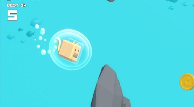 Choppy Waters – Game bơi lội tìm cách sống sót dưới đáy đại dương