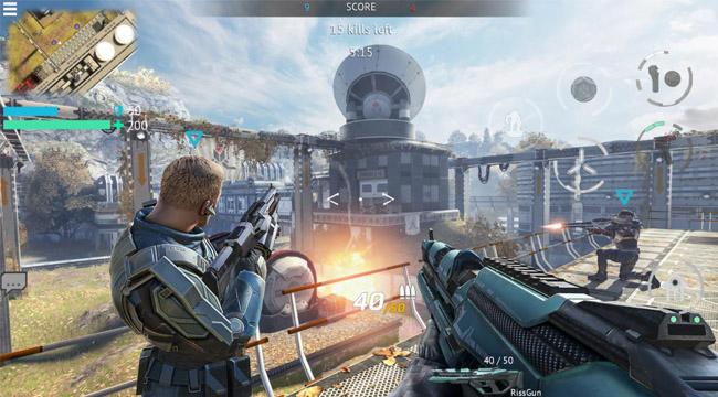 Infinity Ops: Online FPS Cyberpunk Shooter – Khai mở tương lai