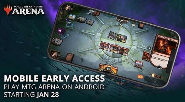 Magic: The Gathering Arena Mobile sẽ ra mắt cuối tháng này cho Android