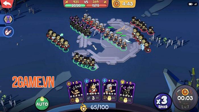 Alchemy War 2: The Rising - Quỷ Vương trở lại với lối chơi chiến thuật hơn 1