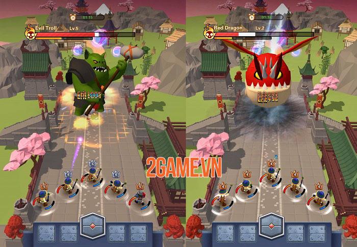 Super Heroes TD - Game chiến thuật với lối chơi nhàn rỗi, dễ dàng và vui vẻ 0