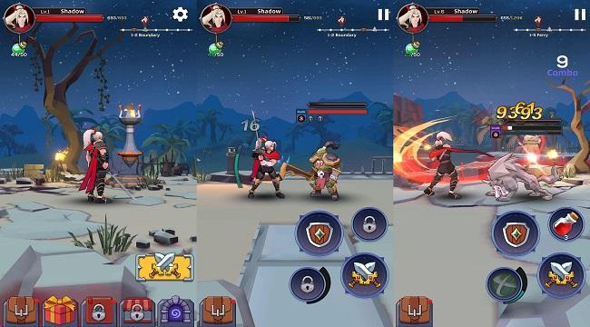 Blazing Soul – Game hành động thao tác một tay với những trận chiến khốc liệt