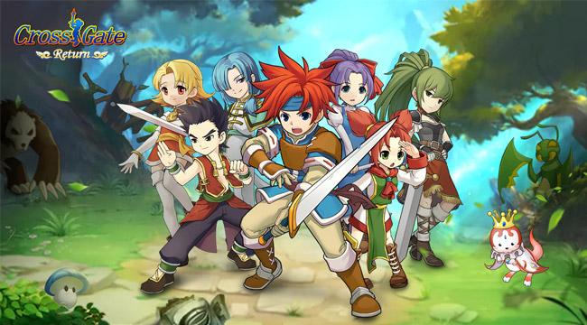 Cross Gate: Return Mobile – Game chất lượng Nhật ra mắt game thủ Việt
