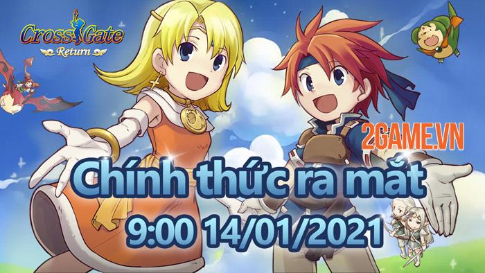 Cross Gate: Return Mobile - Game chất lượng Nhật ra mắt game thủ Việt 4