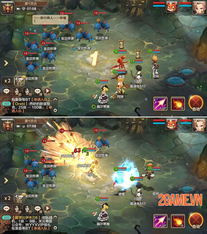 Cross Gate: Return Mobile - Game chất lượng Nhật ra mắt game thủ Việt 1