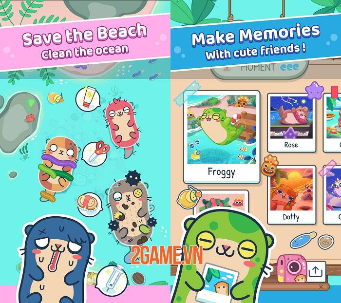 Otter Ocean - Game mobile thu thập thú cưng siêu dễ thương mở đăng kí trước 2