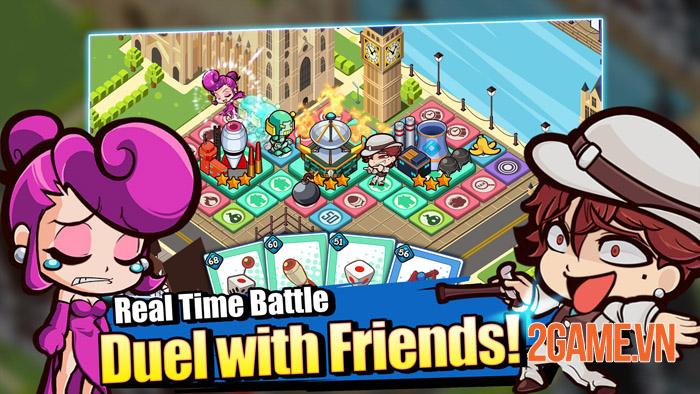 Richman Fight Mobile - Chơi game với phong cách tiền đè chết người 2