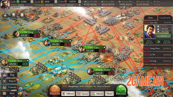 Three Kingdoms Tactics Mobile - Binh quý thần tốc tam phân thiên hạ 4