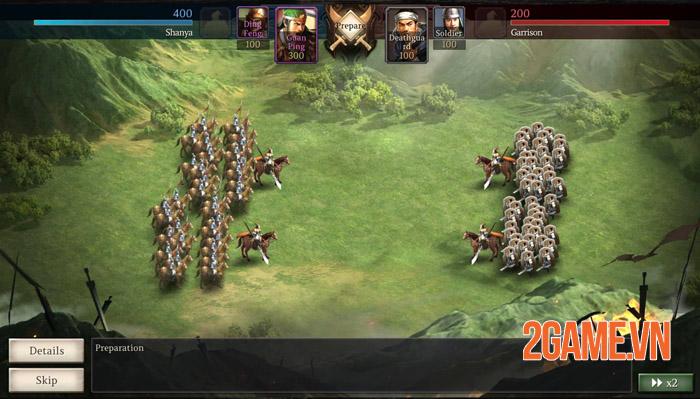 Three Kingdoms Tactics Mobile - Binh quý thần tốc tam phân thiên hạ 2