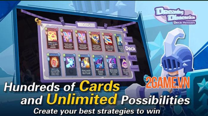 Dreaming Dimension: Deck Heroes - Mỗi màn chơi là một chiến thuật không đụng hàng 3